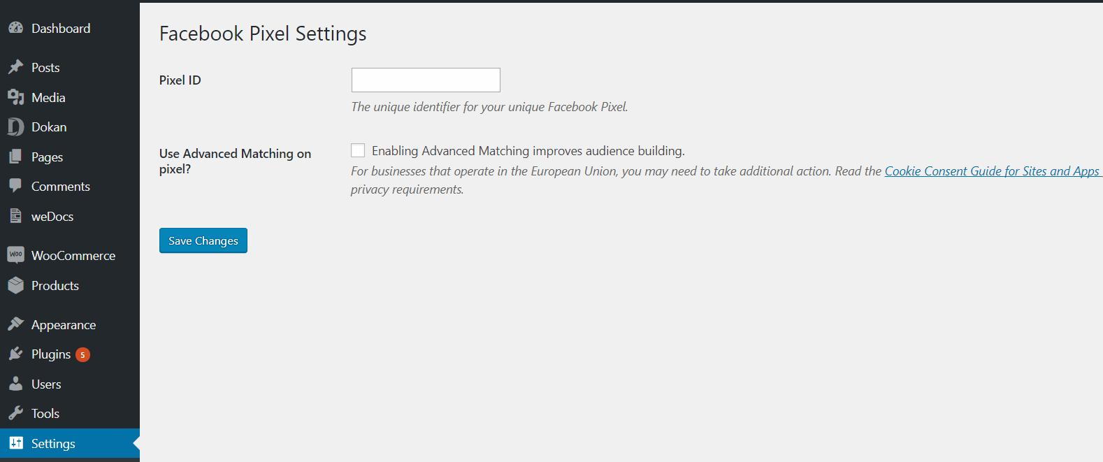 facebook-pixel-settings-wordpress