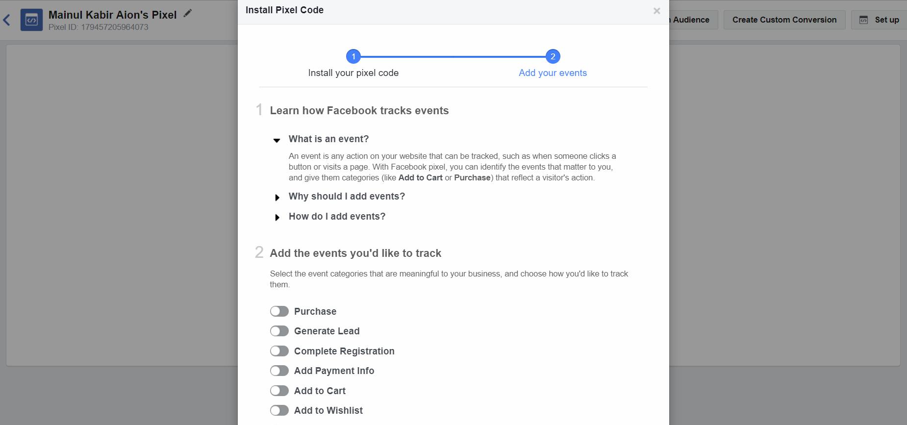 installing-facebook-pixel-code-send-test-traffic
