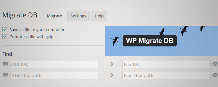 WP Migrate DB to migrate wordpress site