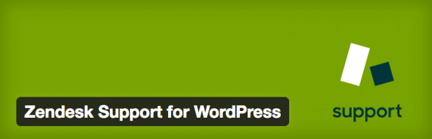 Zendesk support for WordPress, WordPress plugin