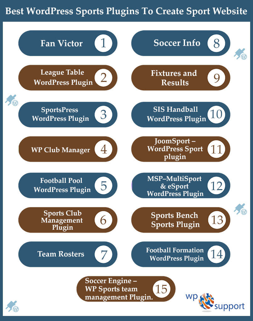 Top 15 WordPress Sports Plugins For Your Website - [2019]