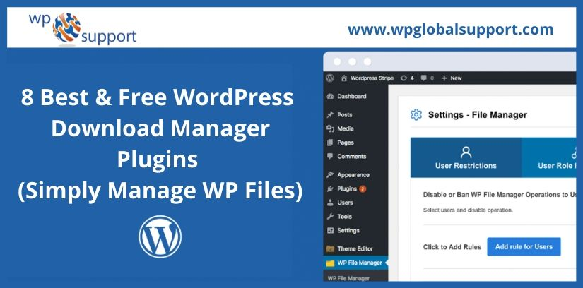8 Best & Free WordPress Download Manager Plugins (Simply Manage WP Files)