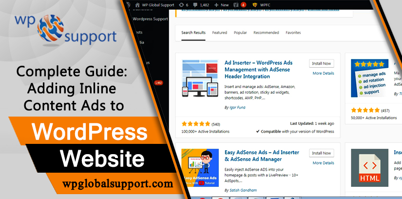 Complete Guide: Adding Inline Content Ads to WordPress Website