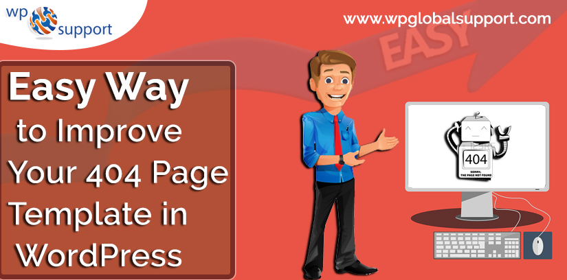 Easy Way to Improve Your 404 Page Template in WordPress