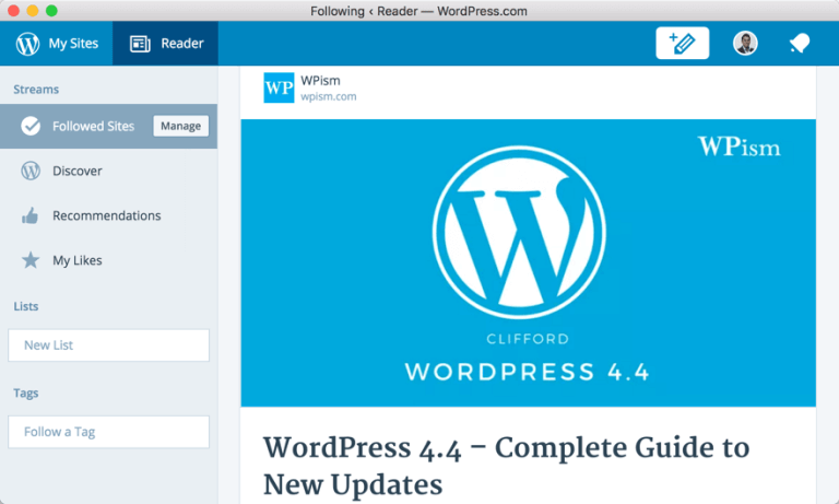 WordPress Desktop App with Your Self-Hosted Blog