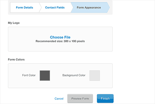 Constant Contact to WordPress site