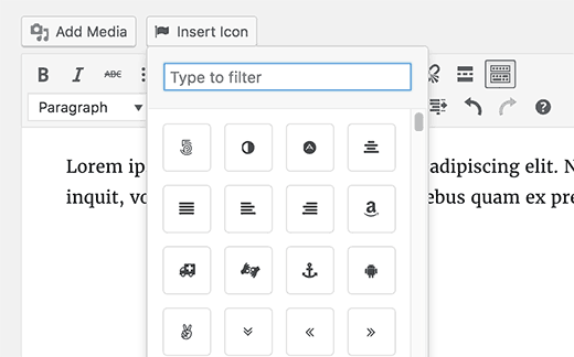 Attachment File Type Icons