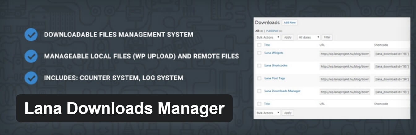 lana downloads manager