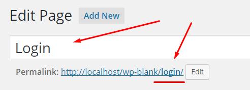 Create Custom Login Page In WordPress