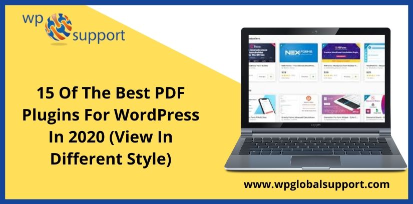 15 Of The Best PDF Plugins For WordPress In 2020 (View In Different Style)