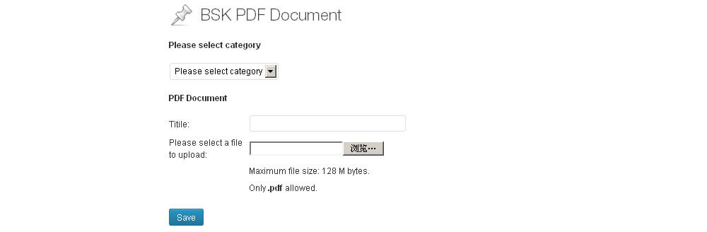 BSK PDF Manager wordpress pdf plugins
