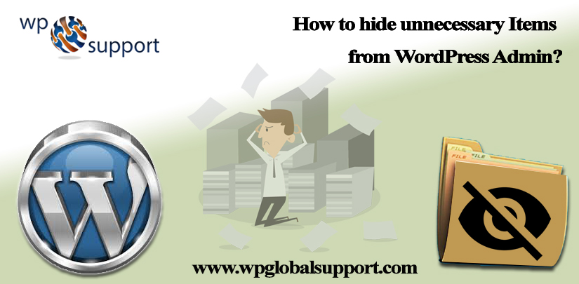 How to hide unnecessary Items from WordPress Admin?