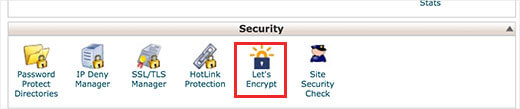 cpanelletsencrypt security feature as part of Free SSL with Let's Encrypt