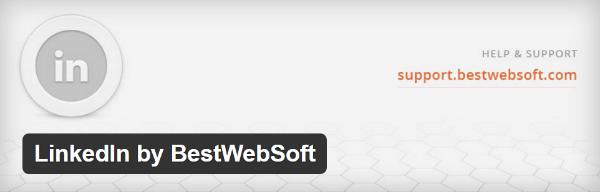 integrate linkedin to wordpress, wordpress plugin