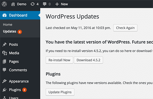 Automatic Updates for WordPress Plugins