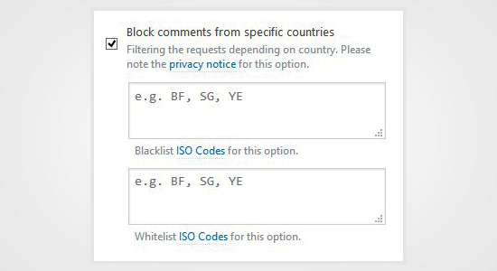 Block Spam Comments in WordPress