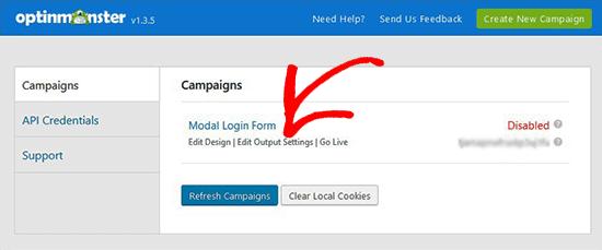create and add Login Popup Modal in WordPress