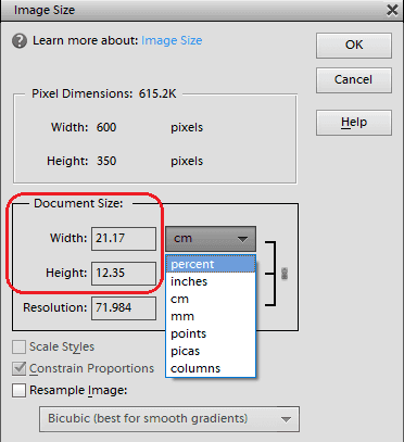 Tools For Image resizing