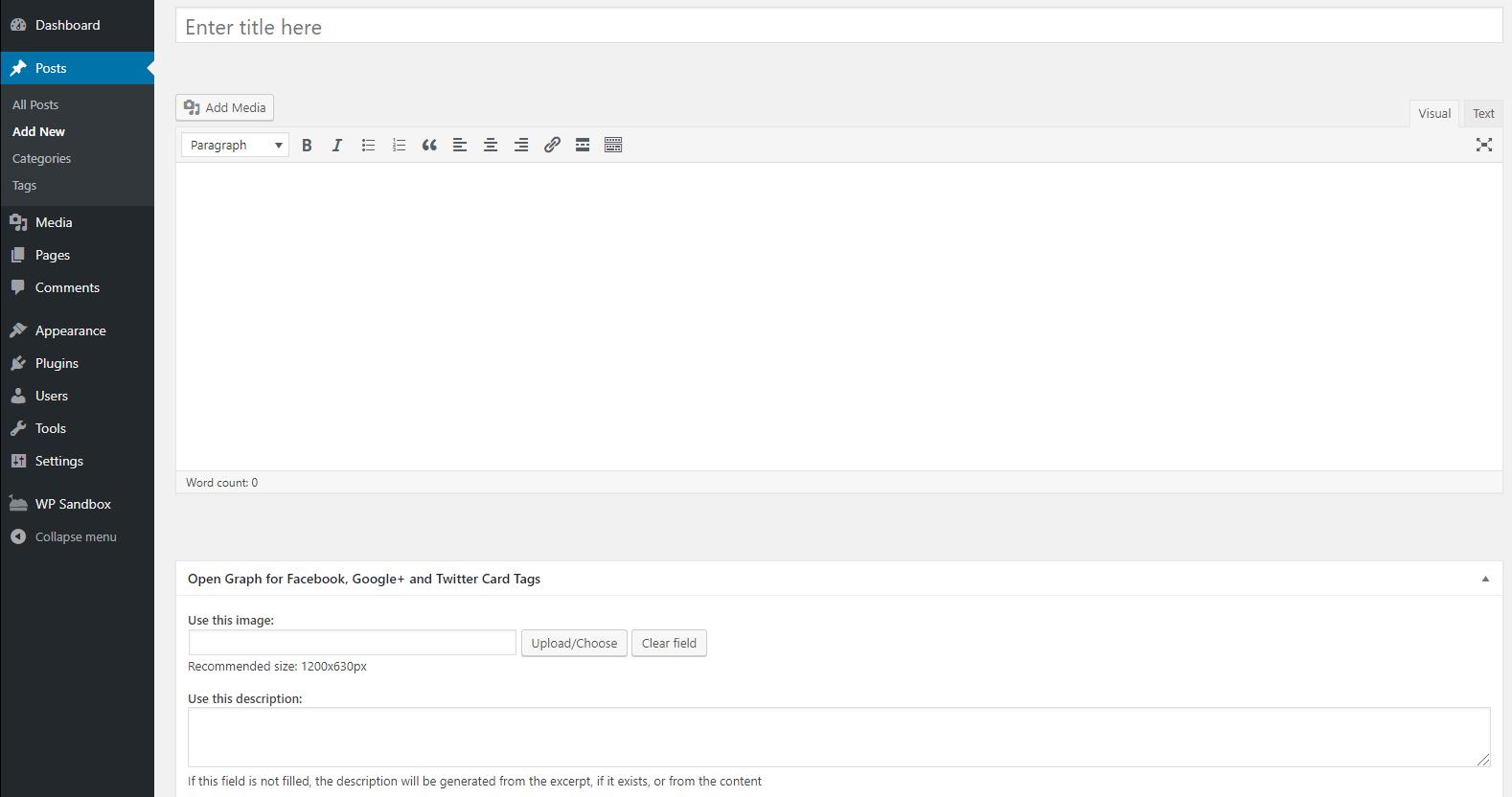 open graph widget