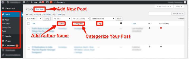 Blogging Is Built-in