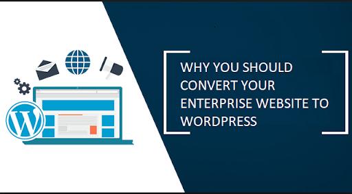 Convert Your Enterprise Website To WordPress