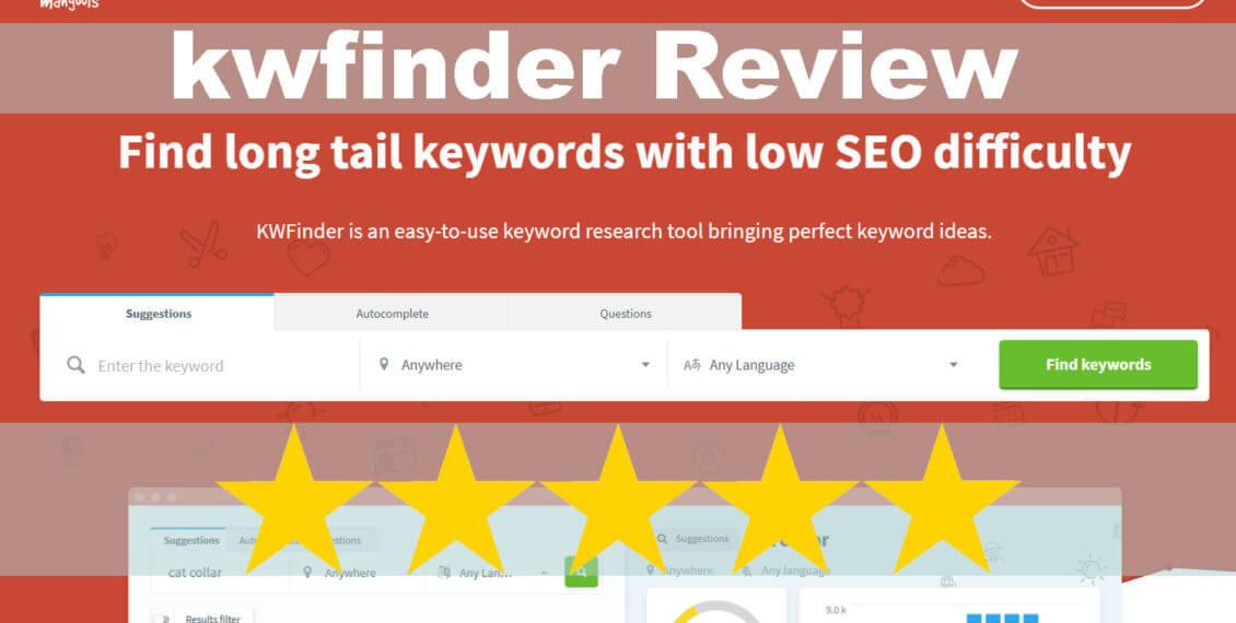 KWFinder SEO Keyword Tools