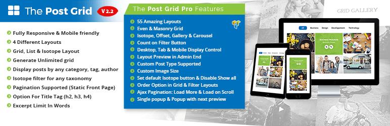 post grid portfolio plugin