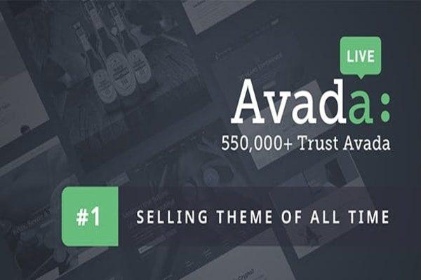 Avada WordPress Business theme