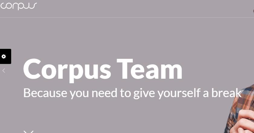 Corpus business theme
