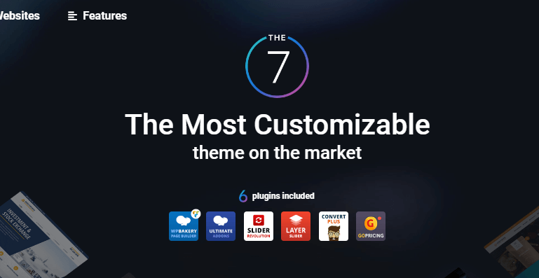 The7 business theme