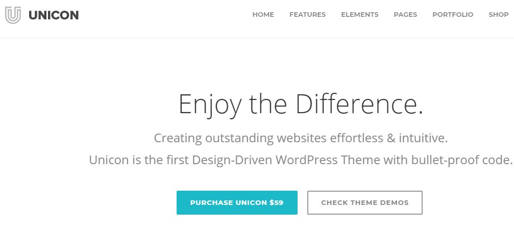 Unicon wordpress themes for business