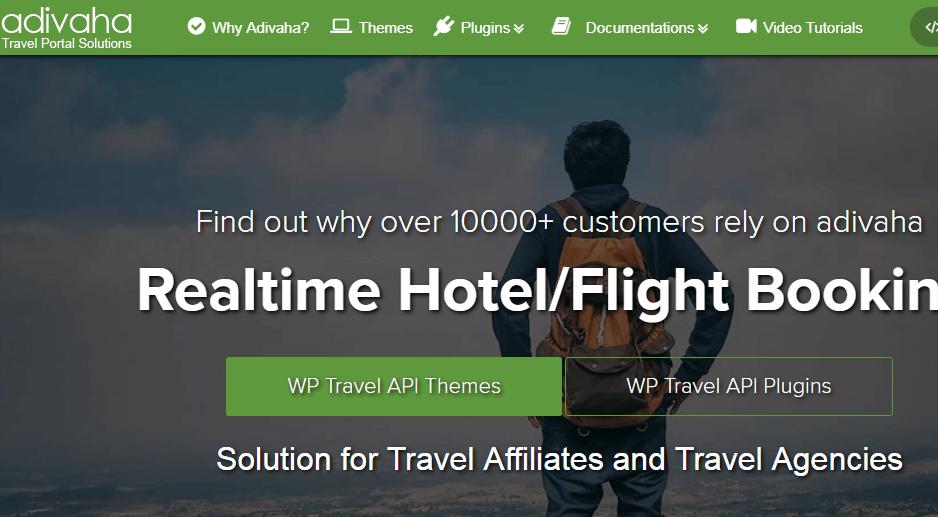 Adivha WordPress booking plugin