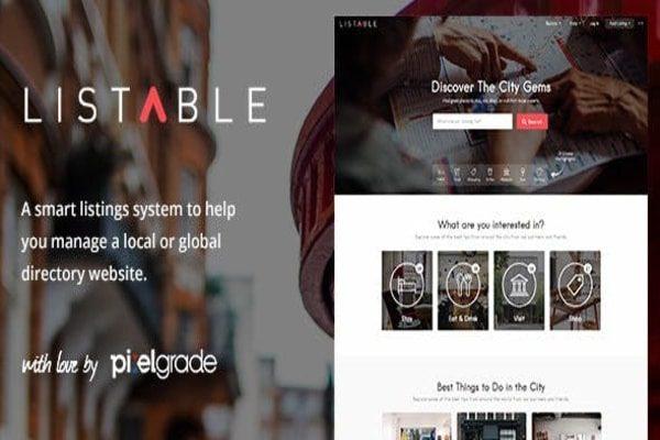 Listable WordPress theme