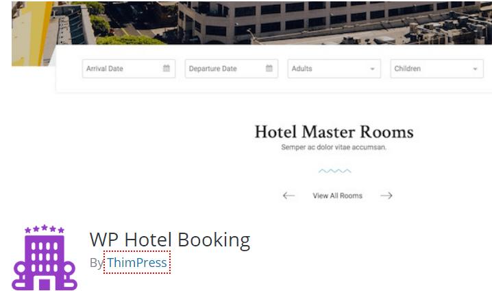 Wp hotel plugin