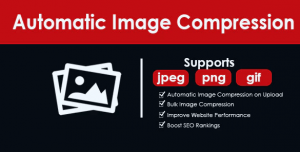 Automatic image compressor theme for WordPress image cleanup