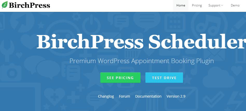 birchpress wordpress booking plugin