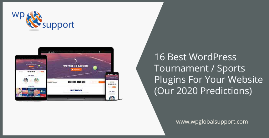 16 Best WordPress Tournament / Sports Plugins For Your Website (Our 2020 Predictions)