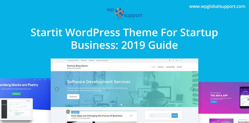 Startit WordPress Theme For Startup Business: 2019 Guide