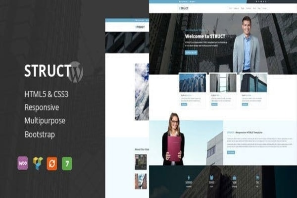 Struct business WordPress theme