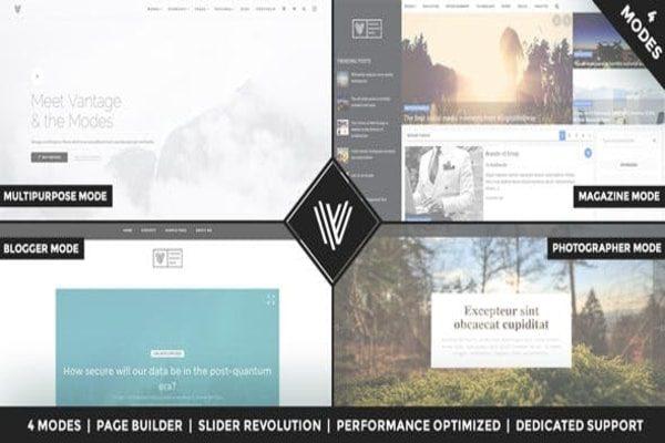 Vantage WordPress business theme