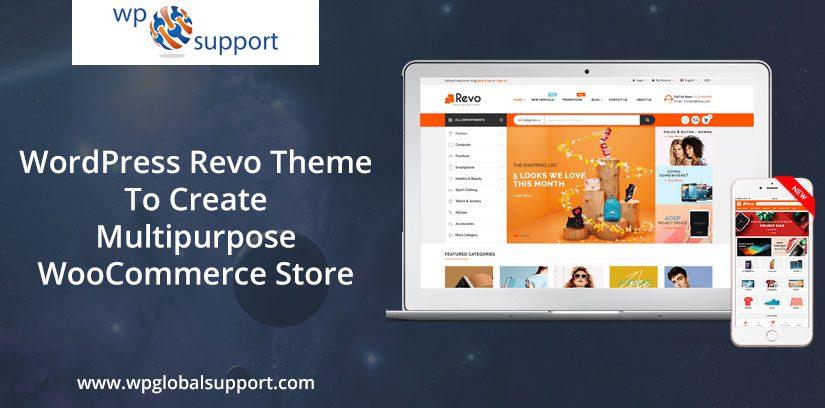 WordPress Revo Theme To Create Multipurpose WooCommerce Store