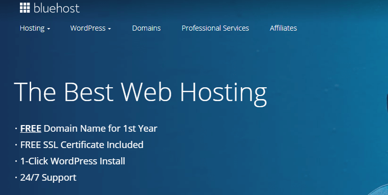 bluehost domain providers