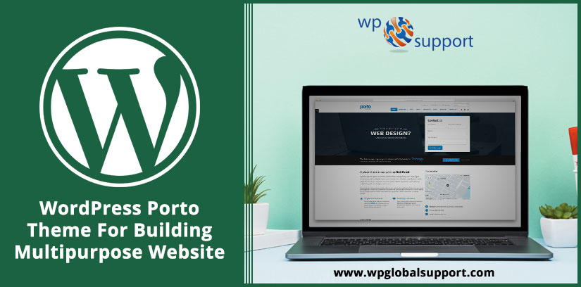 WordPress Porto Theme For Building Multipurpose Website