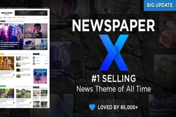 Newspaper X WordPress travel and magazine theme