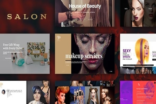 Salon beauty & fashion WP Theme