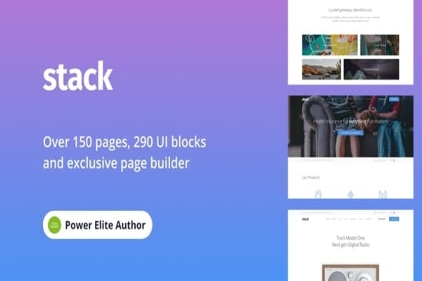 Stack Multipurpose WP theme