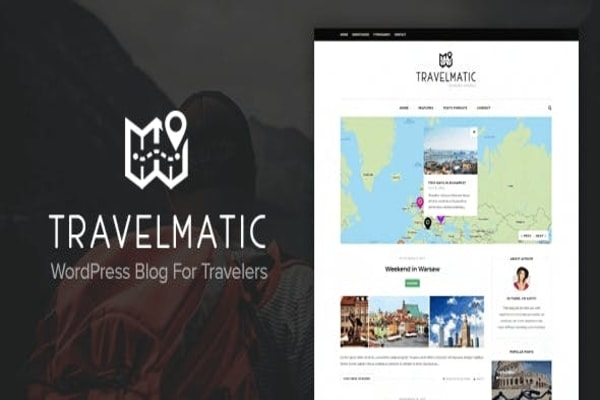 Travelmatic WordPress travel theme