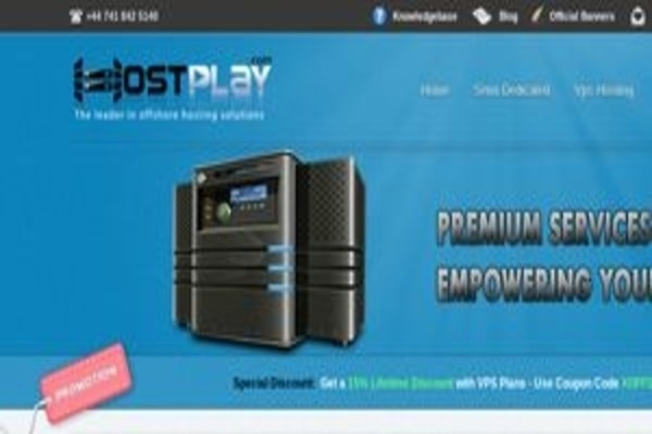 Hostplay web-hosting provider