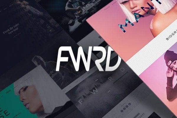 FWRD music WordPress theme