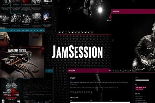 JamSession WordPress music & performers theme